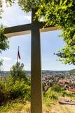 Vues de la montagne Sulperg à Wettingen Image stock