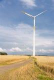 Vues de la Pologne. Ferme de vent en Pologne Images stock