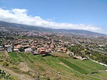 Vues de la vallée d'Orotava Image libre de droits