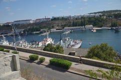 Vues de la ville de Sébastopol en mai 2014 Photos stock