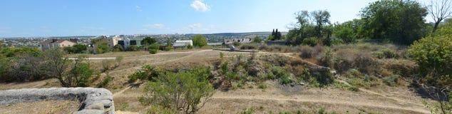 Vues de la ville de Sébastopol en mai 2014 Photographie stock libre de droits