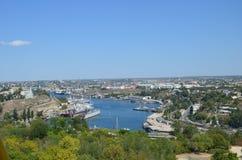 Vues de la ville de Sébastopol en mai 2014 Photographie stock