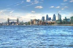 Vues de Londres Image libre de droits