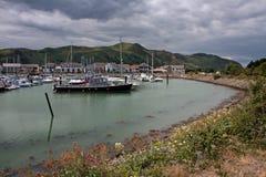 Vues de marina de Conwy Photo libre de droits