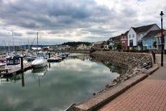 Vues de marina de Conwy Photographie stock