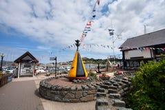 Vues de marina de Conwy Images stock