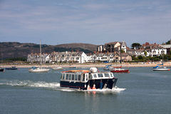 Vues de marina de Conwy Photographie stock libre de droits