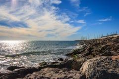 Vues de mer Photos libres de droits