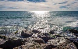 Vues de mer Images stock
