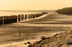 Vues de mer de soirée Photo libre de droits