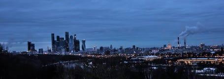 Vues de Moscou Images libres de droits