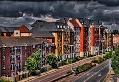 Vues de Northampton Image stock