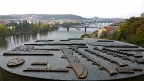 Vues de Prague photo stock