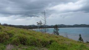 vues de promontoire de kudat dans Sabah Photo libre de droits