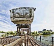 Vues de rivière de Buffalo Images libres de droits