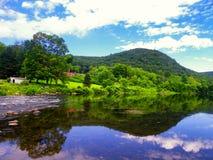 Vues de rivière de Housatonic image stock