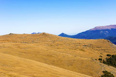 Vues de route de Ridge de traînée chez Rocky Mountains Photos libres de droits