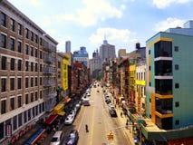Vues de rue de New York Photo libre de droits
