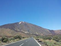 Vues de Teide du Parador Photographie stock libre de droits