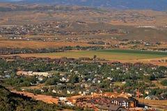 vues de vallée photo stock