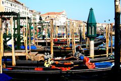Vues de Venise  Passerelle de Rialto images stock