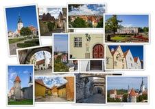 Vues de vieux Tallinn photographie stock