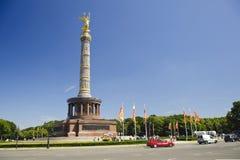 Vues de ville de Berlin du fléau de victoire photo stock