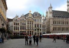 Vues de ville de Bruxelles Image libre de droits