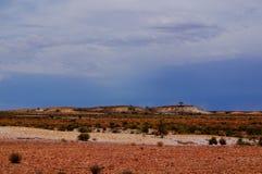 Vues de voie d'Oodnadatta Image stock