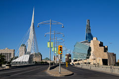 Vues de Winnipeg Photo stock