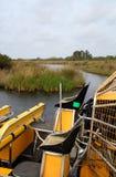 Vues des marais Image libre de droits