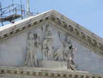 Vues du bâtiment de capitol situé dans notre capitale du ` s de nation, Washington, D C photo libre de droits