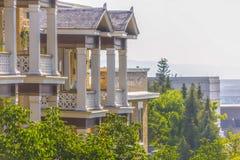 Vues du beau bâtiment résidentiel Salt Lake photographie stock
