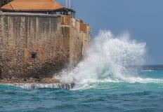 Vues du Curaçao Photos libres de droits