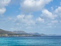 vues du Curaçao de côte photos stock