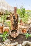 Vues du Curaçao de jardin d'herbes aromatiques Images stock