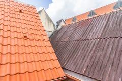 Vues du Curaçao de toit de Punda photo libre de droits