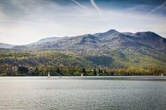 Vues du lac Image libre de droits