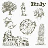 Vues et culture en Italie Photo stock