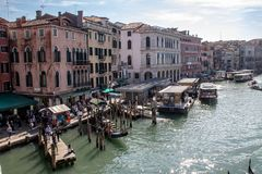 Vues le long de Grand Canal photo stock