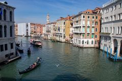 Vues le long de Grand Canal photo libre de droits