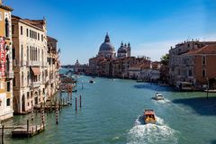 Vues le long de Grand Canal images libres de droits