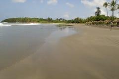 Vues panoramiques de la plage Image libre de droits