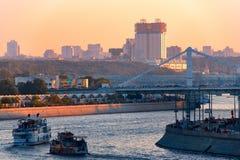 Vues panoramiques de la ville de Moscou Photo stock