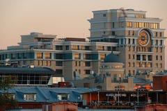 Vues panoramiques de la ville de Moscou Image stock