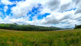 Vues panoramiques des montagnes écossaises Image stock