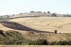 Vues panoramiques du pays dans Apulia Italie Image libre de droits