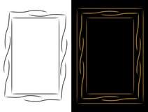 Vues pour les illustrations ou le texte illustration de vecteur