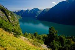 Vues renversantes du fjord Le comté de plus d'og Romsdal norway Image libre de droits