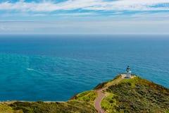 Vues scéniques de beau paysage au cap Reinga photos stock